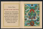 Folding Thangka: Green Tara