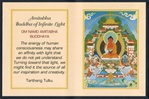 Folding Thangka: Amitabha Buddha of Infinite Light