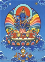 Vajradhara with Consort (Tib: Dorje Chang Yum Che)