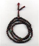 Mala Tiger Eye Red, 05 mm, 108 beads