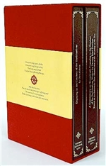 Bodhisattvacharyavatara: Engaging in the Conduct of the Bodhisattvas (2 Volumes) <br> By: Shantideva, with commentary by Sazang Mati Panchen