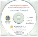 Distinction Between Consciousness and Wisdom (MP3 CD)