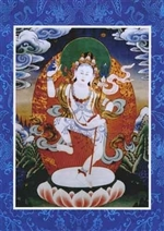 Selje Do Drelma Thangka Card, 6x8.5 inch