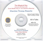 Khenpo Gangshar's The Magical Key (MP3 CD) : Khenchen Thrangu Rinpoche