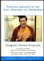 Precious Garland of the Four Dharmas of Gampopa