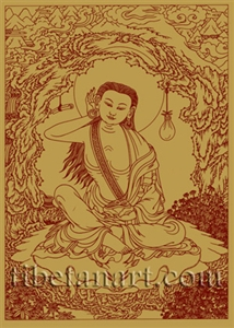 Milarepa Silk Screen Print