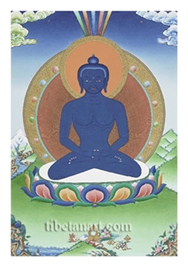 Samantabhadra Digital Print