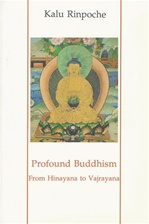 Profound Buddhism: From Hinayana to Vajrayana <br> By: Kalu Rinpoche
