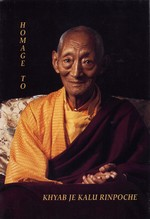 Homage to Kalu Rinpoche
