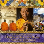 Best of 25 Years Tibetan Healing Music of Nawang Khechog CD