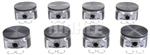 ModMax OEM Hypereutectic Piston Set 4.6 5.4 0cc Flat Top