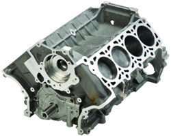 5.4 Short Block - High Voltage Lightning 1500HP 2V 3V 4V - Cast Iron Block