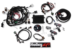 Holley EFI ECU & Harness Kit Modular 4V