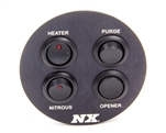 Nitrous Express Custom Switch Panel - Mustang 94-04