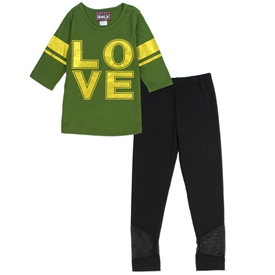 Wholesale RMLA Girls 4-6X 2-Piece Athletic Legging Set