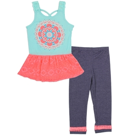 Wholesale RMLA Girls 4-6X 2PC Legging Set