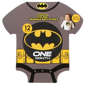 Wholesale BATMAN First Year Milestone Belly Stickers
