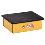 Ocean Clam Yellow Laminate Step Stool