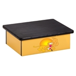 Serengeti Lion Cubs Yellow Laminate Step Stool