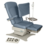 "UMF Low Access Podiatry Chair  19"" Height, 600 lb capacity 3 Function Programmable Foot Ctl"