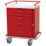 Classic Line, Four Drawer, Emergency Cart