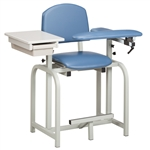 Clinton Lab X Series, Extra-Wide, Blood Drawing Chair 66011