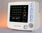Criticare nGenuity 8100EP-ST Patient Monitor w/ ST, Arrythmia & Printer