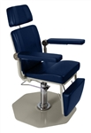 UMF ENT Chair - Foot Operated Pump, 250 lb capacity, Standard leg rest