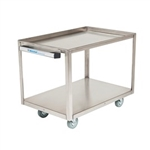 Whitehall Two Shelf Cart with Handle