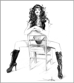 "Janesko Original ""Julie In Chair"""