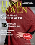 Handwoven magazine - 2012 - January/February