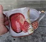 Pottery - Majolica Mug - Pomegranate