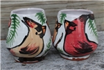 Pottery - Majolica Wine Cup -Cardinal