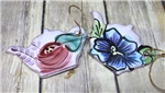 Pottery - Ornament - Teapot - Choose your flower