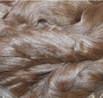 Alpaca Silk - Chocolate (by the ounce)
