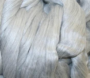 Alpaca Silk - Grey (by the ounce)