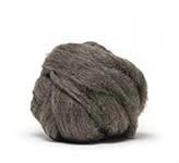 New Zealand Natural Roving - Medium Grey (by the ounce)
