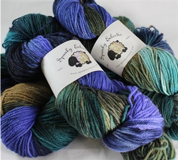 Kid Hollow 3 ply - MoKa Farm Yarn - Monsoon