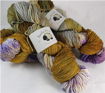 Kid Hollow 3 ply - MoKa Farm Yarn - Sassy
