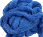 MOKA Farm Roving - Cormo - Blue (by the ounce)