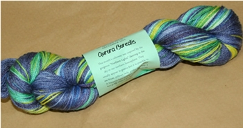 "Club Extras YARN - December 2012- ""Aurora Borealis"""