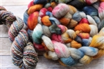 Please note, this listing is just for fiber. The yarns are there just to show samples or the yarn club