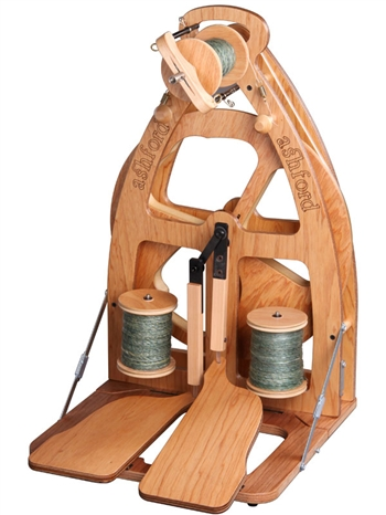 Ashford Spinning Wheel - Joy Double Treadle WITH Bag