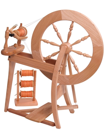 Ashford Spinning Wheel - Traditional Double Drive Lacquered Finish