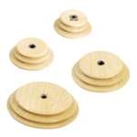 Schacht Standard Whorls/Pulleys - Maple