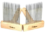 Valkyrie 2 Row Fine Full Size Combs