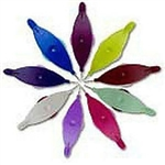 Aerlit Tatting Shuttle with 2 bobbins - Choose your color