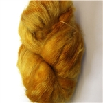 """Fluff"" Mohair lace yarn - Gold Digger"