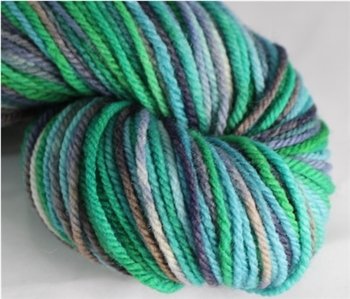 Targhee Classic yarn - Worsted weight - Dragonfly