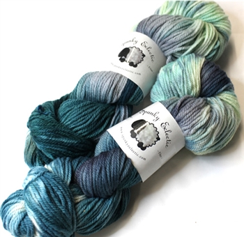 Targhee Classic yarn - Worsted weight - Deep Breath